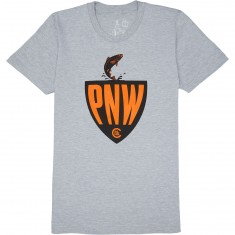 Casual Industrees PNW Fisherman T-Shirt - Heather Grey