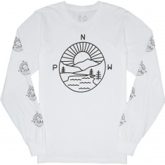 Casual Industrees PNW Explorer Longsleeve T-Shirt - White