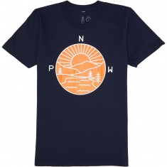Casual Industrees PNW Explorer T-Shirt - Navy Blue