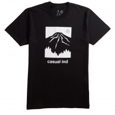 Casual Industries Rainier Casual T-Shirt - Black
