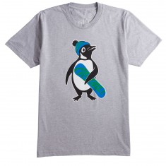Casual Industries Penguin T-Shirt - Heather Gray