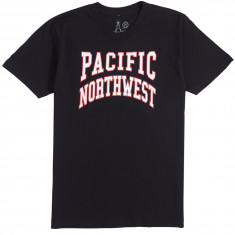 Casual Industries Pacific Northwest Collegiate T-Shirt - Black