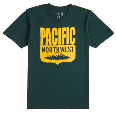 Casual Industries PNW Shield T-Shirt - Forest Green