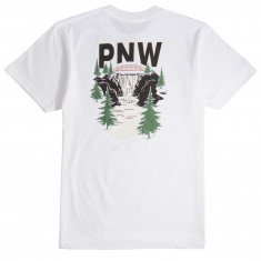 Casual Industrees PNW Waterfall T-Shirt - White