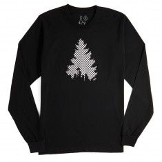 Casual Industrees Johnny Tree Long Sleeve T-Shirt - Black/White