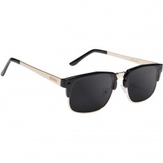 Glassy P-Rod Polarized Sunglasses - Black/Gold