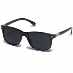 Glassy Biebel Polarized Sunglasses - Black/Purple
