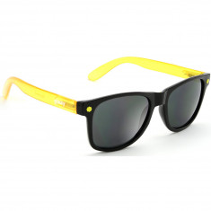 Glassy Leonard Cancer Hater Sunglasses - Black/Yellow