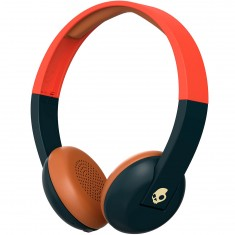 Skullcandy Uproar Wireless Headphones - Explore Evergreen/Orange/Cream