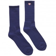 Diamond Supply Co. Brilliance High Top Socks - Heather Navy