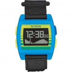 Nixon Base Tide Nylon Watch - Blue/Yellow Fade