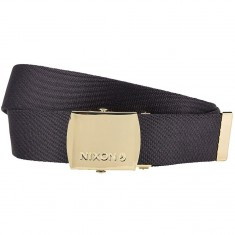 Nixon Basis Belt - Black/Gold