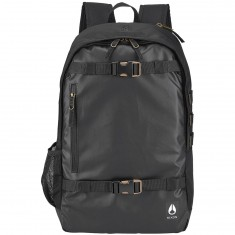 Nixon Smith Skatepack III Backpack - All Black Nylon
