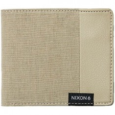 Nixon Showdown Canvas Bi Fold Wallet - Khaki