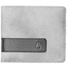 Nixon Showdown Bi Fold Zip Wallet - Concrete