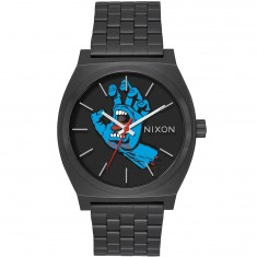 Nixon X Santa Cruz Screaming Hand Time Teller Watch - Black/Screaming Hand