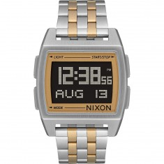 Nixon Base Watch - Silver/Light Gold