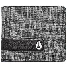 Nixon Showoff Bi-Fold Wallet - Black Wash