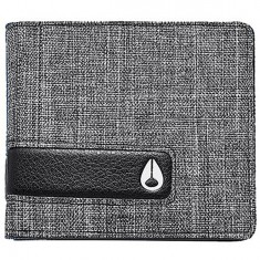 Nixon Showdown Bi-Fold Wallet - Black Wash