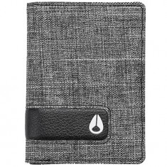 Nixon Showup Card Wallet - Black Wash