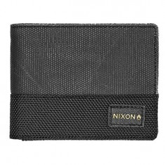 Nixon Origami Escape Bi-Fold Clip Wallet - Black