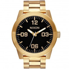 Nixon Corporal SS Watch - All Gold/Black