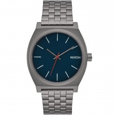 Nixon Time Teller Watch - All Gunmetal/Dark Blue
