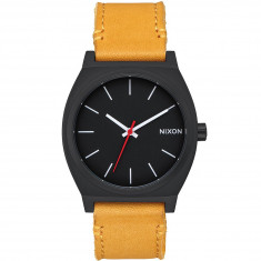 Nixon Mountain Dweller Time Teller Watch - All Black/Goldenrod