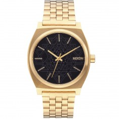 Nixon Time Teller Watch - Gold/Black/Stamped