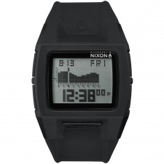 Nixon Lodown Silicone Watch - Black/Positive