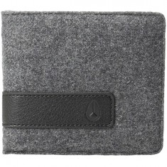 Nixon Showdown Bi-Fold Wallet - Charcoal / Black