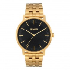 Nixon Porter Watch - All Gold/Black Sunray