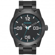 Nixon Corporal SS Watch - All Black/Blue