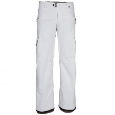 686 Mistress Insulated Womens Cargo Snowboard Pants - White