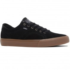 Lakai Flaco Shoes - Black/Gum Suede