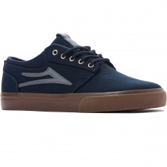 Lakai Griffin Shoes - Navy/Gum Herringbone