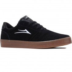 Lakai Salford Shoes - Black/Gum Suede