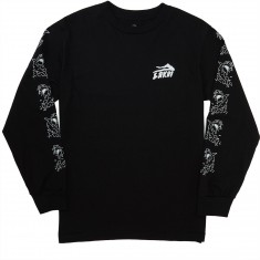 Lakai Splash Long Sleeve T-Shirt - Black