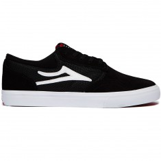 Lakai Griffin Mesh Shoes - Black Suede