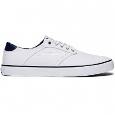 Lakai Porter Shoes - White Canvas