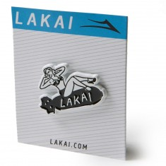 Lakai Bombs Away Pin - Black/White