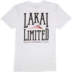 Lakai Box T-Shirt - White