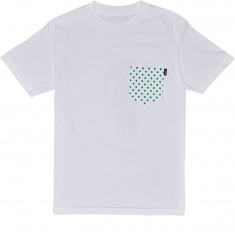 Lakai X Girl Dotted Pocket T-Shirt - White
