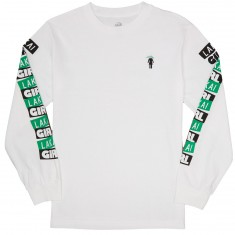 Lakai X Girl Pasted Longsleeve T-Shirt - White