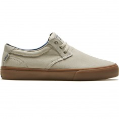 Lakai Daly Shoes - White Suede
