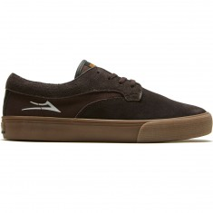 Lakai Riley Hawk Shoes - Chocolate Suede