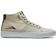 Lakai Flaco High Shoes - White Suede