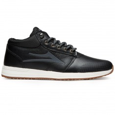 Lakai Griffin Mid WT Shoes - Black Heather