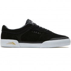 Lakai Staple Shoes - Black Suede