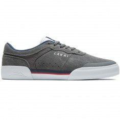 Lakai Staple Shoes - Grey Suede